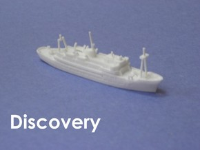 RRS Discovery (1962) (1:1200) in White Strong & Flexible