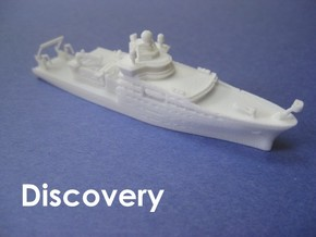 RRS Discovery (2013) (1:1200) in White Natural Versatile Plastic