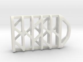 Tritium Lantern 6 (All Materials) in White Natural Versatile Plastic
