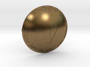 Voyagers Omni Belt Buckle in Natural Bronze