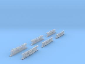 1-160 Panchorga Fake trucks in Smooth Fine Detail Plastic