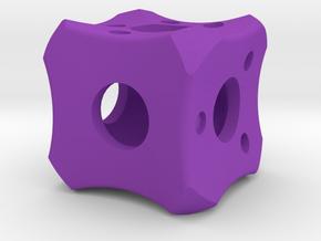 Dice52 in Purple Processed Versatile Plastic