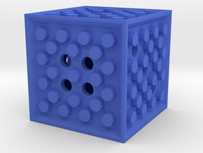 Dice69 in Blue Processed Versatile Plastic