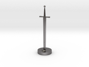 Role Playing Counter: Longsword in Polished Nickel Steel