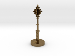 Role Playing Counter: Mace in Natural Bronze