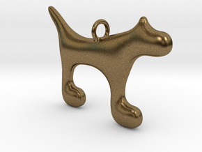 Dog1 in Natural Bronze