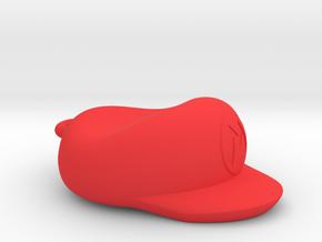 Mario Cap Necklace in Red Processed Versatile Plastic