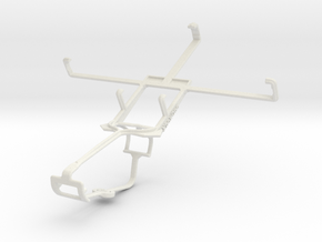 Controller mount for Xbox One & verykool s758 in White Natural Versatile Plastic