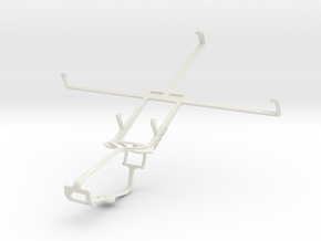 Controller mount for Xbox One & Vodafone Smart Tab in White Natural Versatile Plastic