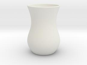 Tea Glass - Anatolian Style in White Natural Versatile Plastic