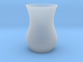 Tea Glass - Anatolian Style in Smooth Fine Detail Plastic