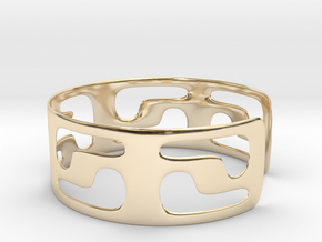 Bracciale05_d70mm in 14K Yellow Gold