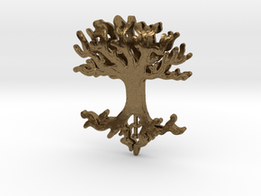 Tree Lingalad Pendant in Natural Bronze