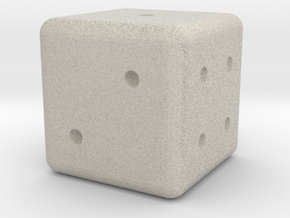 Normal Dice in Natural Sandstone