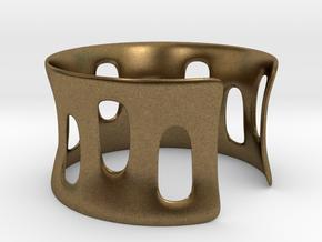Bracciale001 in Natural Bronze