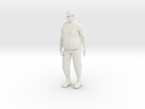 Workman 1/29 scale in White Natural Versatile Plastic