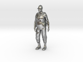 Workman 1/29 scale in Natural Silver