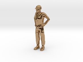 Foreman 1/29 scale in Polished Brass