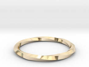 Nurbs Wedding Ring--Size 7.75 in 14K Yellow Gold