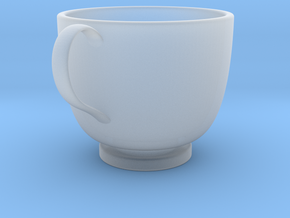 Turkish Coffee Cup in Smooth Fine Detail Plastic