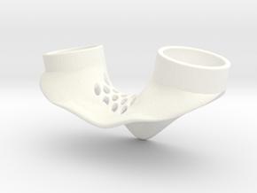Petting Ring T19.2 F18.2 in White Processed Versatile Plastic