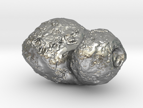 Comet 67P in Natural Silver