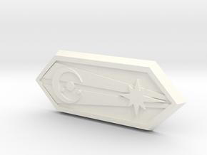 Mando Diamond Corellia Influence  in White Processed Versatile Plastic