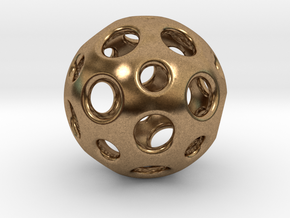 Little Dome in Natural Brass