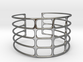 Bracciale07 in Polished Silver