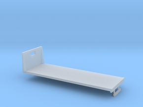 1/64th S Scale 24 foot flatbed in Smooth Fine Detail Plastic