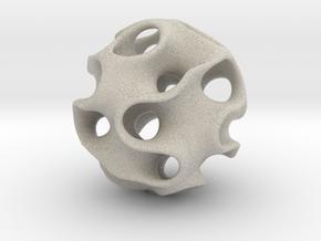 GYRON Sphere - 10cm in Natural Sandstone