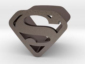 Super 10 By Jielt Gregoire in Polished Bronzed Silver Steel