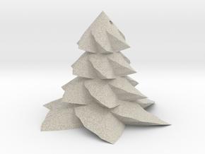 Christmas tree - Sapin De Noel in Natural Sandstone