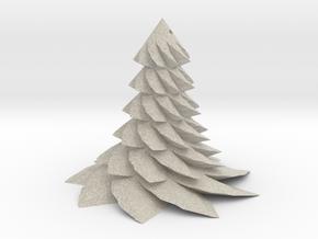 Christmas Tree - Sapin De Noel 80-6-9-2 in Natural Sandstone