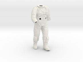 Gemini Astronaut / 1:6 / Walking Version in White Strong & Flexible