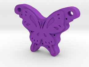 Butterfly in Purple Strong & Flexible Polished