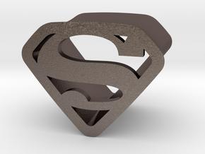 Super 12 By Jielt Gregoire in Polished Bronzed Silver Steel