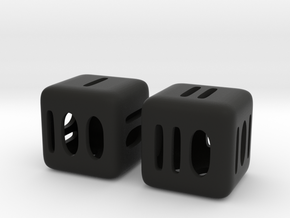 Binary D6 in Black Strong & Flexible