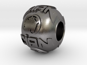 CIAN - Charm in Polished Nickel Steel