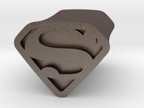 Super 6 By Jielt Gregoire in Polished Bronzed Silver Steel