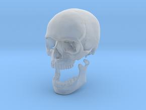 42mm 1.65in Human Skull Crane Schädel че́реп in Smooth Fine Detail Plastic