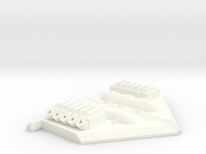 CARF Ultra Flash cockpit detail parts in White Processed Versatile Plastic