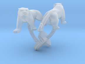 TwinTigers -Cuffs- in Smooth Fine Detail Plastic