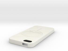 iPhone5case in White Natural Versatile Plastic