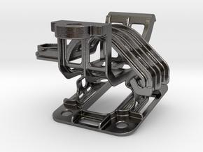 Naviholder ZUMO 3XX - Steel - Multistrada 1200 in Polished Nickel Steel