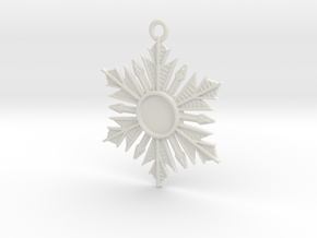 Anna's Wishing Star Pendant (Once Upon a Time) in White Natural Versatile Plastic