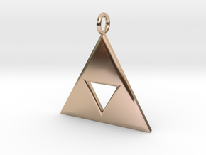 Triforce in 14k Rose Gold