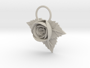Rose in Natural Sandstone