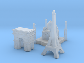 Capital Set (France & India) in Frosted Ultra Detail