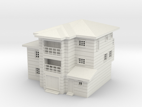 Duplex Scaled 100 fixed in White Natural Versatile Plastic